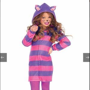 Girls' Cheshire Cat costume dress worn once!